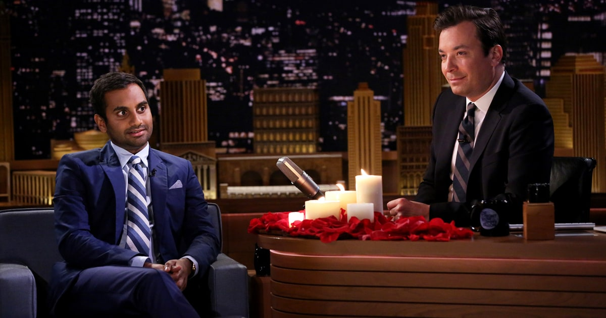 aziz ansari dating jimmy fallon Jimmy fallon aziz ansari yelp favorite jimmy fallon reads off #springbroke tweets and they're about as depraved and ridiculous as you'd dating fails fail.