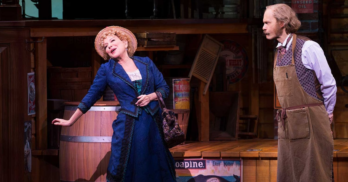 Lyric barbra streisand hello dolly lyrics : Travers Reviews Bette Midler in 'Hello, Dolly' Broadway Revival ...