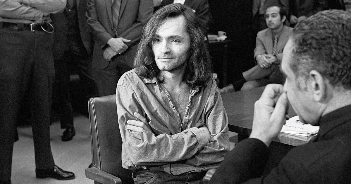 Patty hearst and charles manson