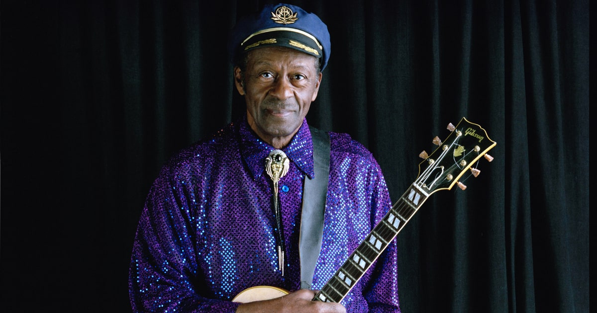 Chuck Berry At Home In 2001 Rock Icon Talks Racism And