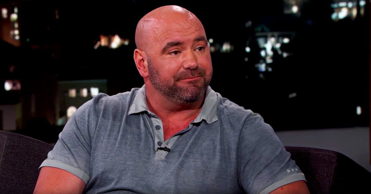 Ufc 39 s dana white on speaking at republican national for Dans white