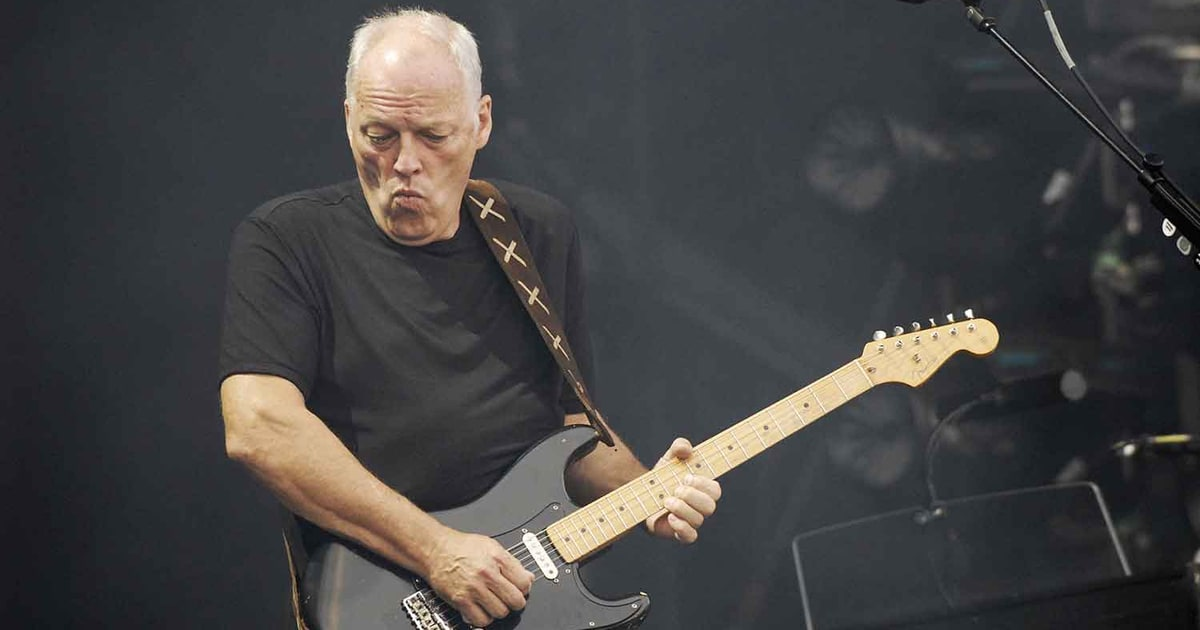 Flashback: The Who Perform The Dirty Jobs With David Gilmour news