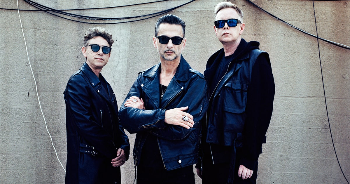 Depeche mode reject alt right leader 39 s band praise - Depeche mode in your room live 2017 ...