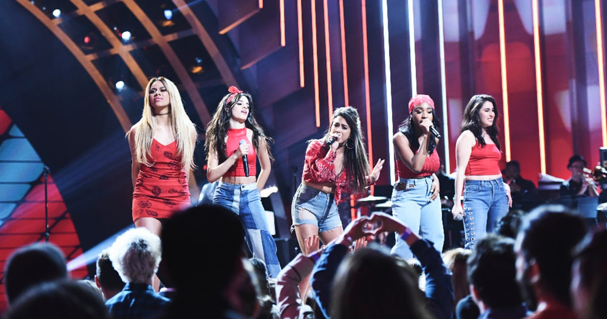 Watch Fifth Harmonys Slick Work From Home Performance on Kimmel news