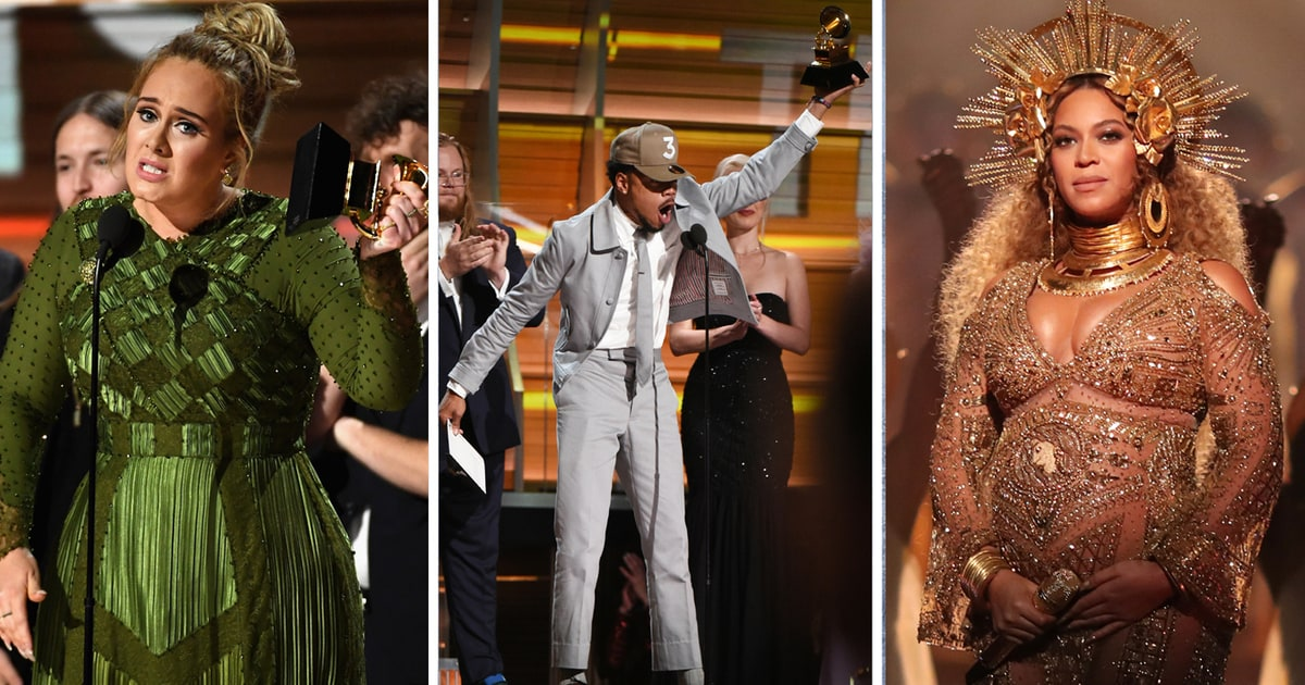 Grammys: Grammys 2017: Adele, Chance The Rapper, Beyonce Dominate
