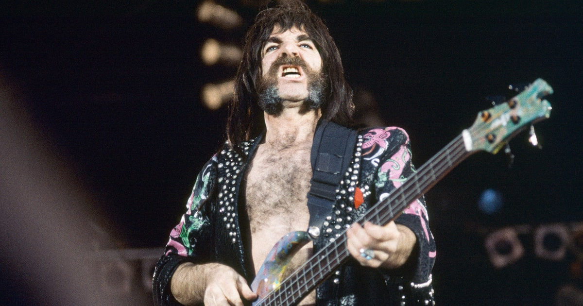 Harry Shearer Spinal Tap Bass