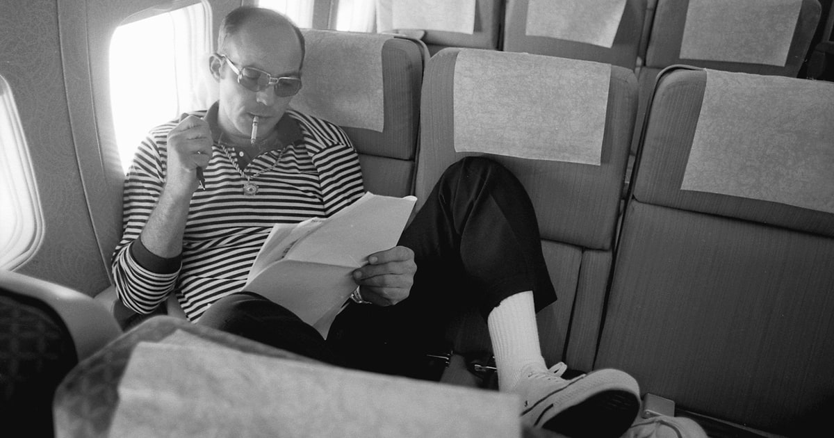 rolling stone at how hunter s thompson became a legend  rolling stone at 50 how hunter s thompson became a legend rolling stone