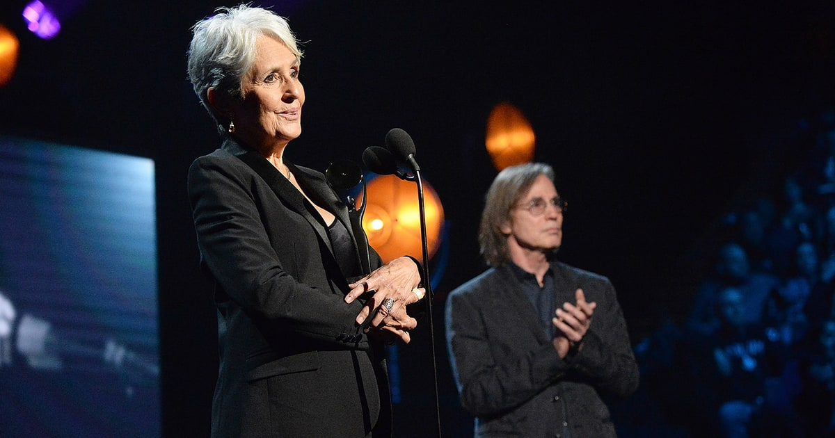 Watch Joan Baez's Moving Rock Hall of Fame Speech ...