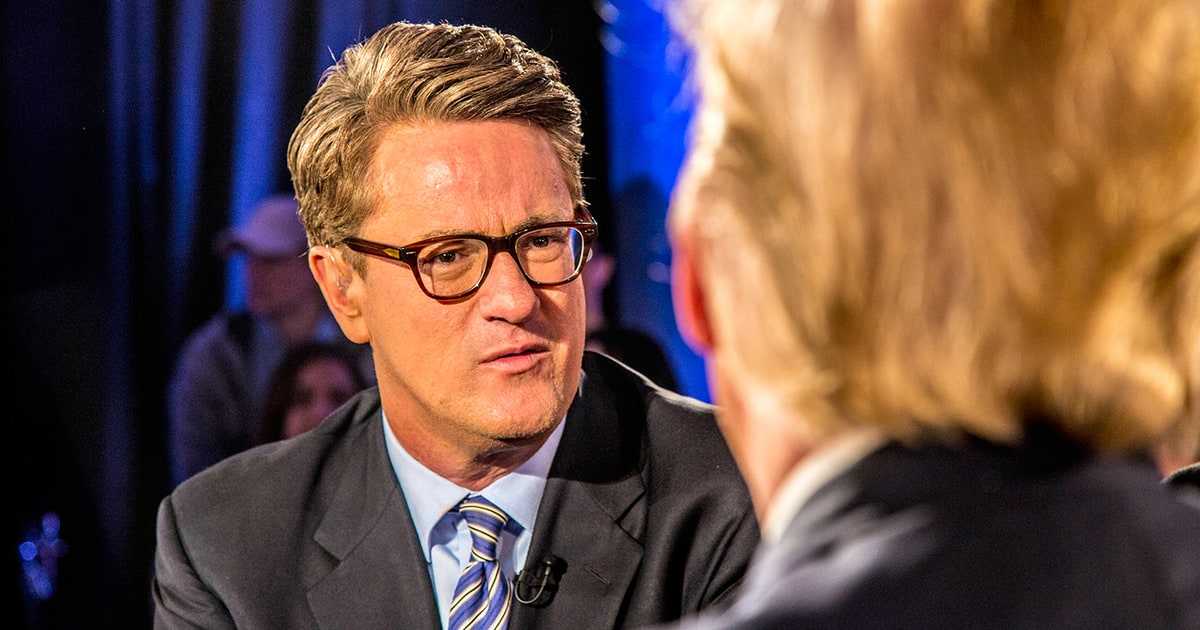 Joe Scarborough Details Trump Falling Out: 'He Screamed at ...