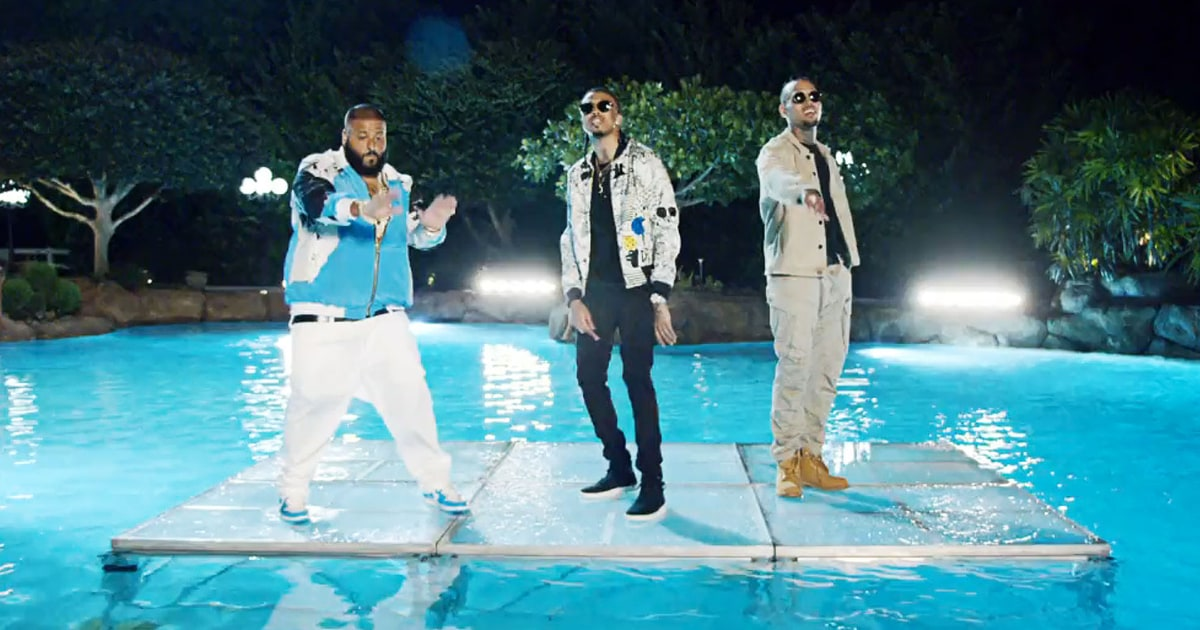 DJ Khaled, Chris Brown, Rick Ross & August Alsina Film Video for 'Do You Mind' [PHOTO] news