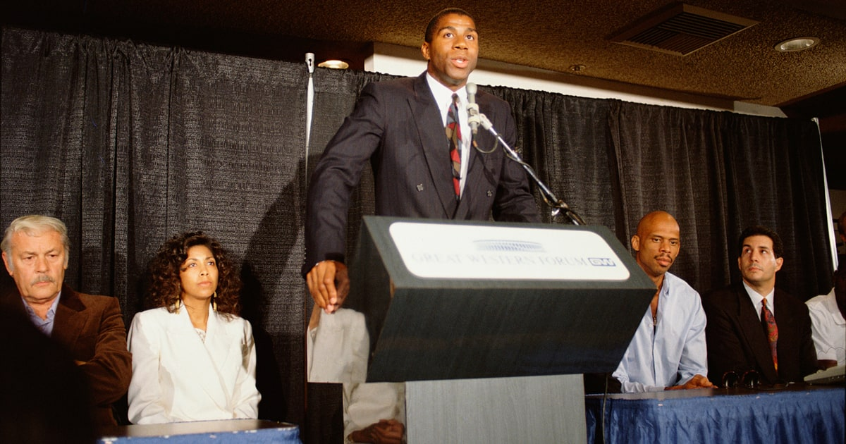 Image result for basketball's magic johnson announced he is retiring from basketball