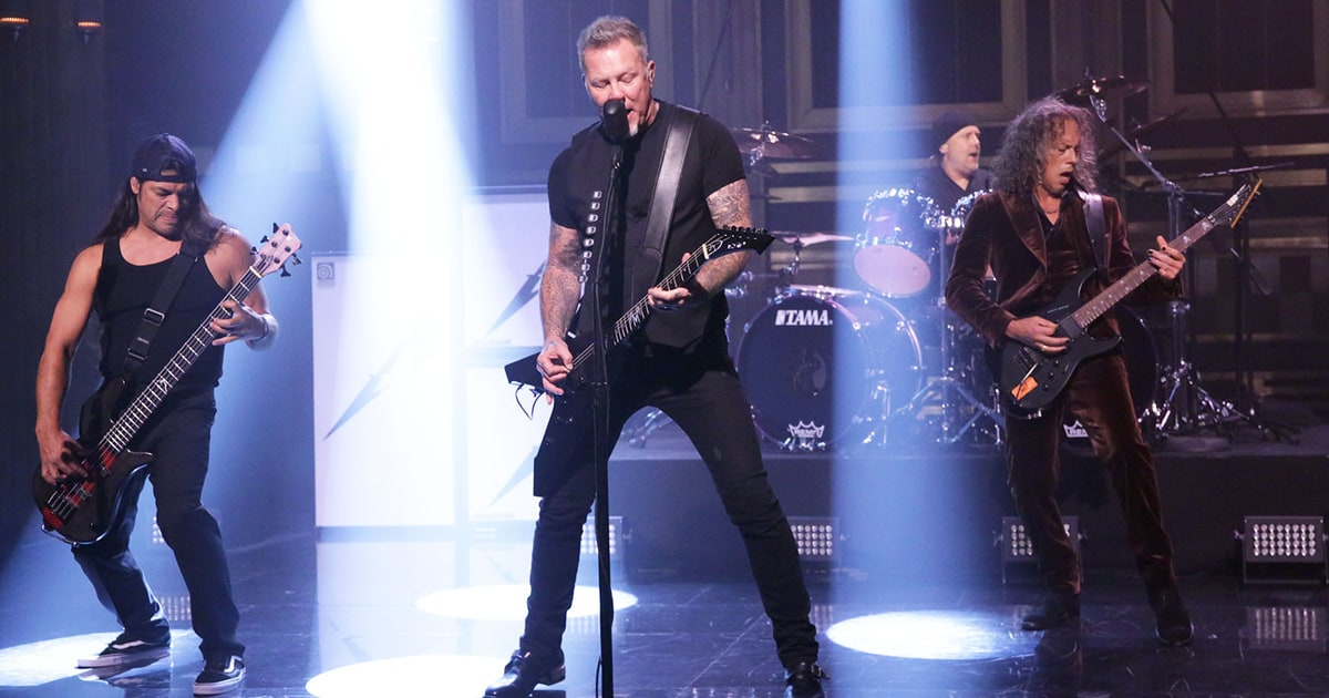 Metallica's James Hetfield Talks Bataclan Attack: 'Why There?' news