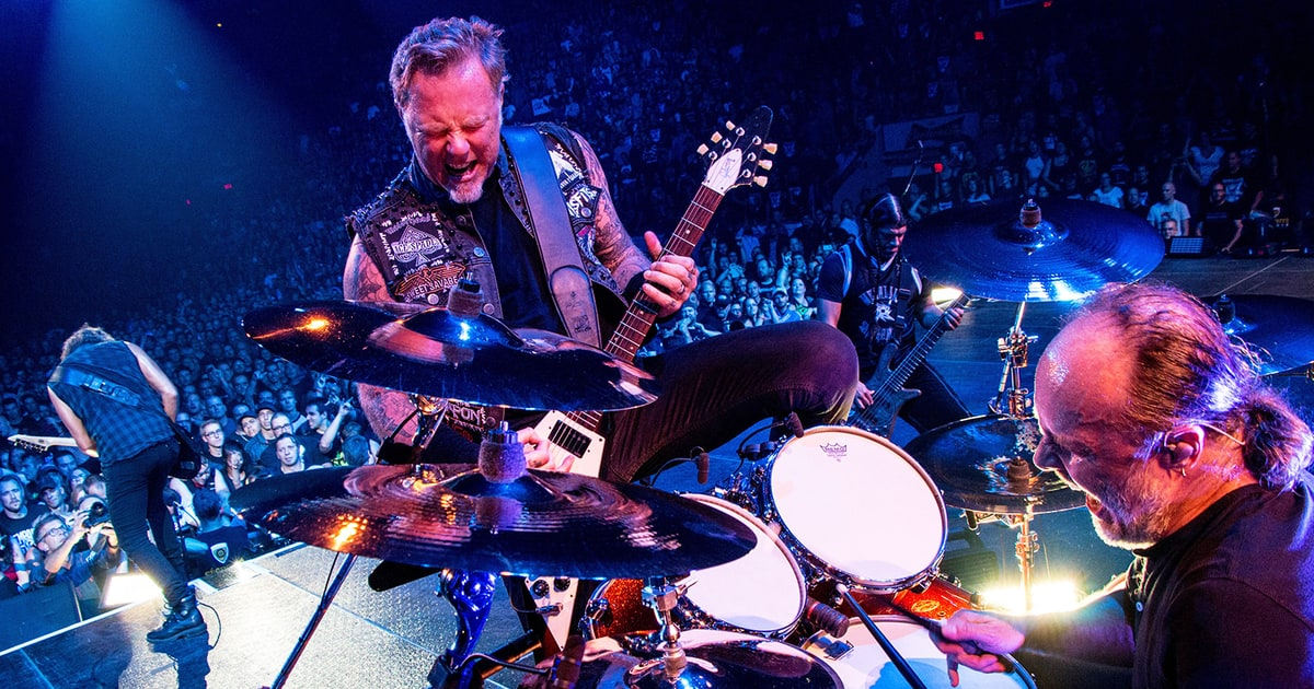 Metallica Preview 'Hardwired...To Self Destruct' LP With Breakneck Song news