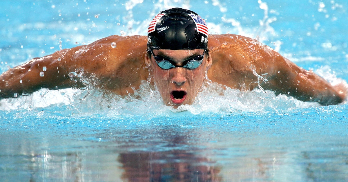 Michael Phelps To Race Great White Shark For Shark Week