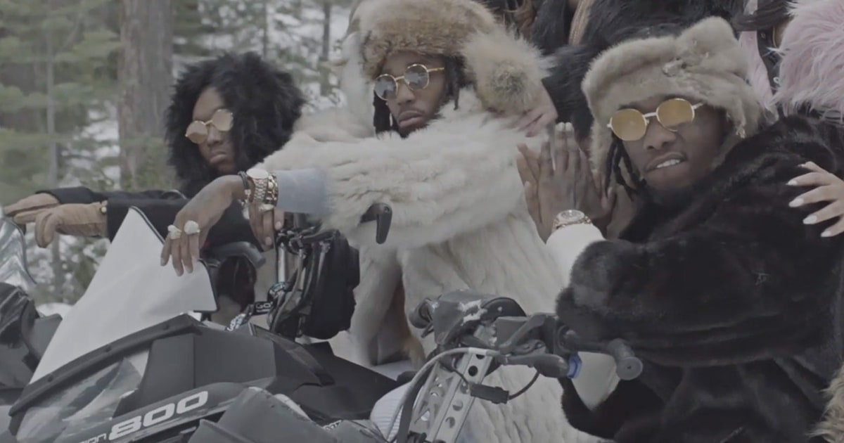 Watch migos head to the mountains for new 39 t shirt 39 video for T shirt by migos