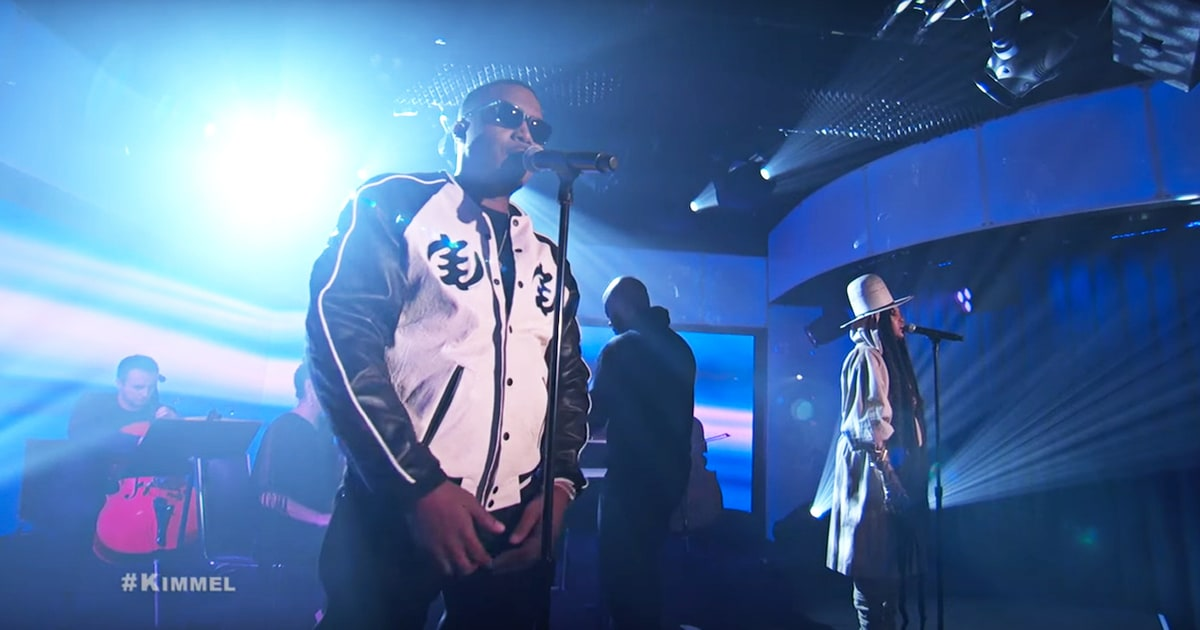 "Nas Performs ""This Bitter Land"" With Erykah Badu and Talks New Music on 'Jimmy Kimmel Live' news"
