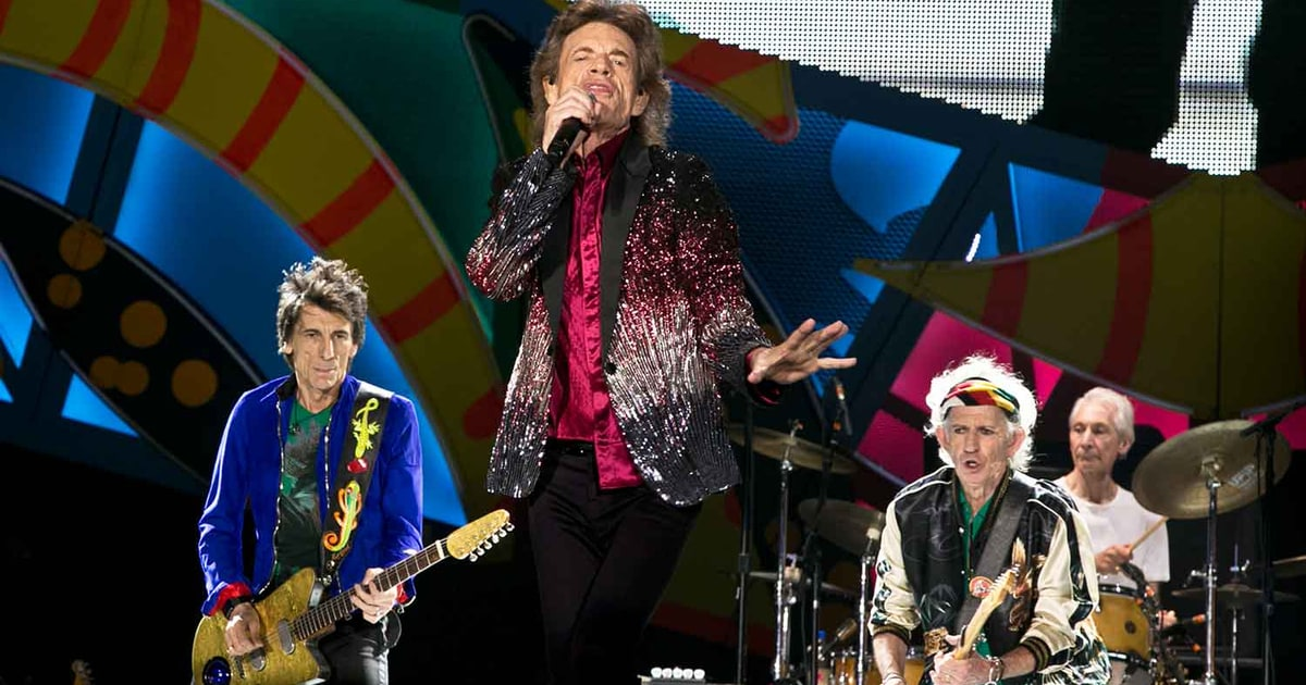 The #RollingStones played a free concert for an estimated 500,000 #Cuban fans in... instagram