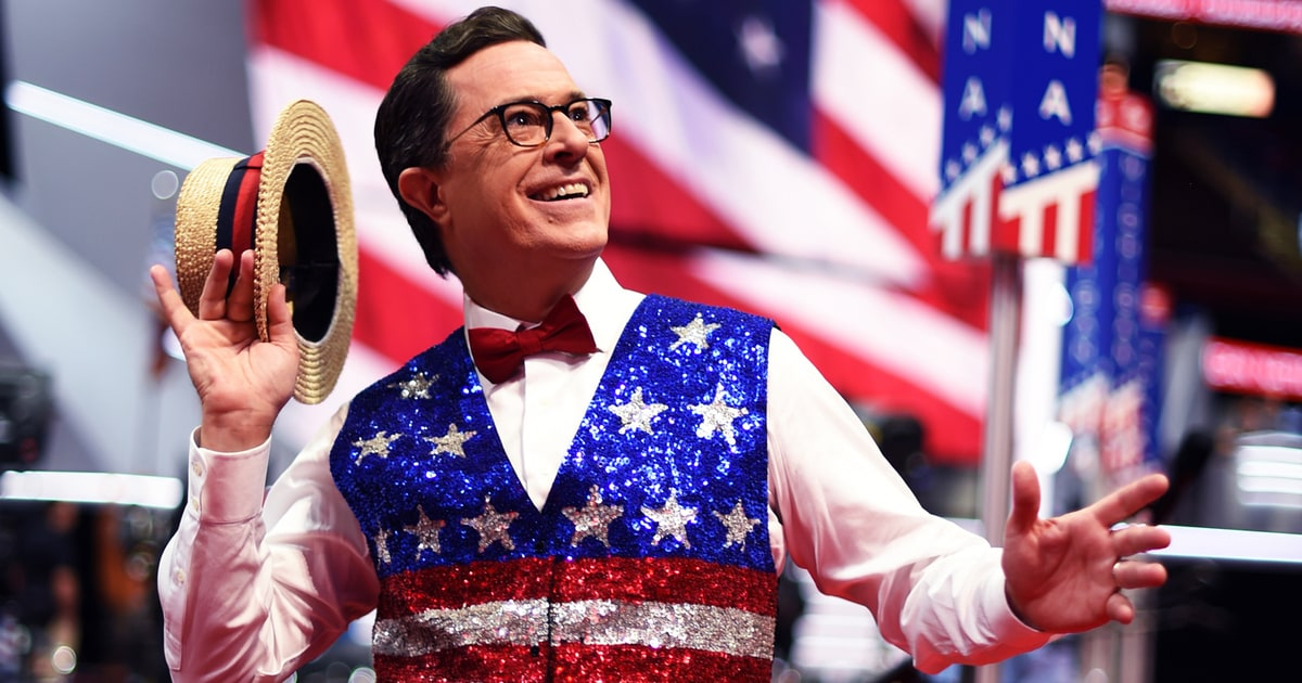 Watch Stephen Colbert's Extravagant RNC Musical Tribute - Rolling ...
