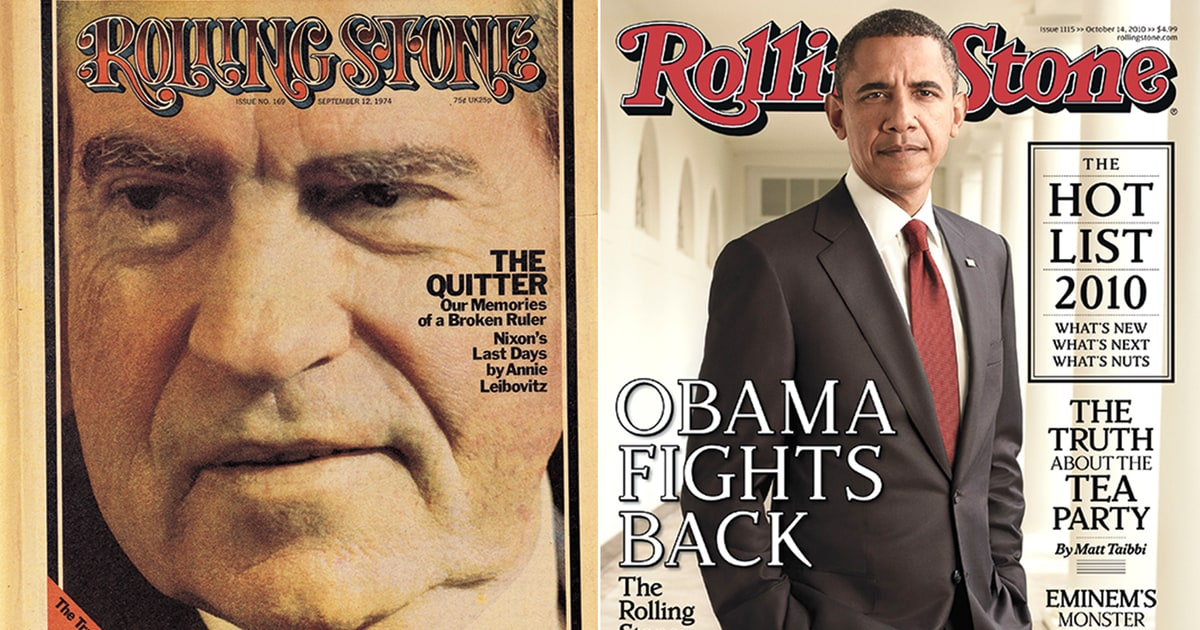 Rolling Stone at 50: From Nixon to Trump, Talking to Power - Rolling Stone