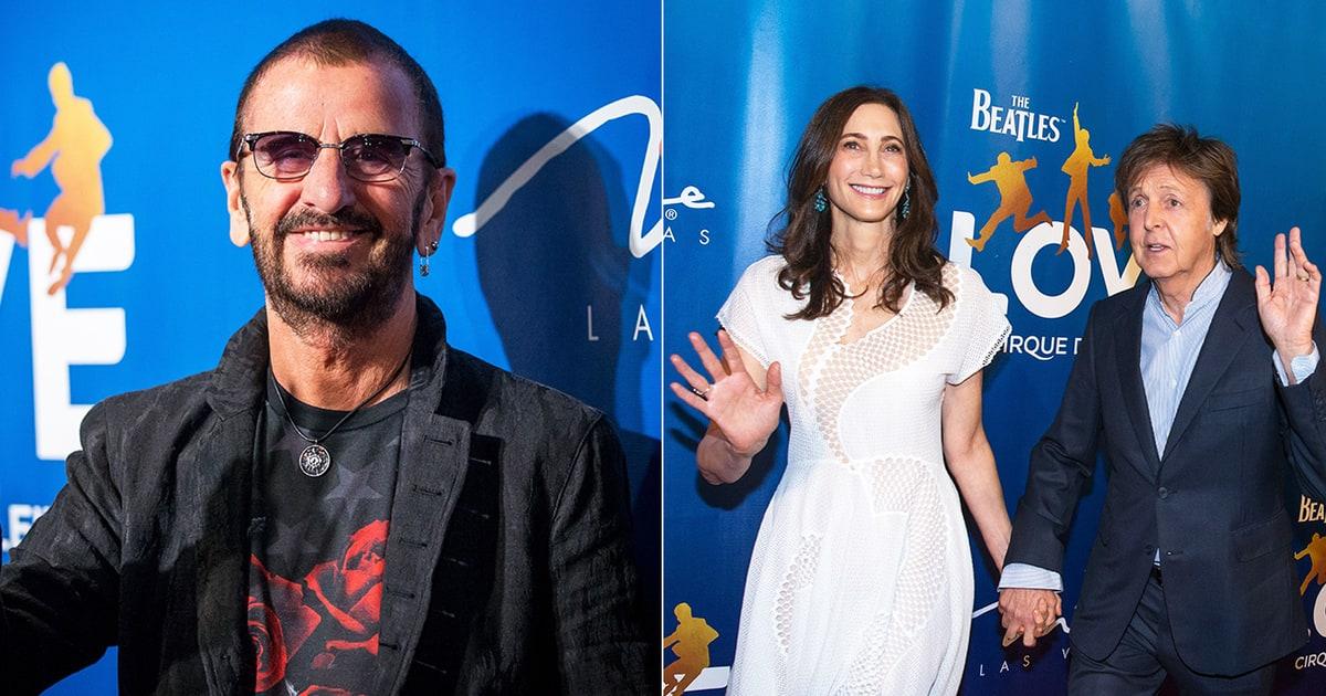 Beatles Love At 10 Paul Ringo And Friends Celebrate