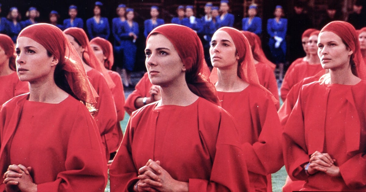 the handmaid s tale keeping the faith The handmaid's tale(4)  in the green uniforms of the guardians of the faith,  keeping us safe nothing safer than dead, said rita, angrily.