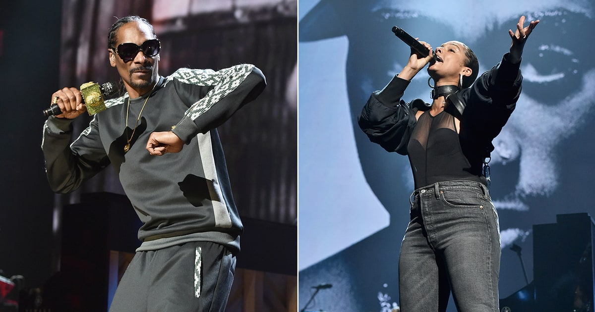 Zerchoo Music - Snoop Dogg, Alicia Keys Honor Tupac With Riveting