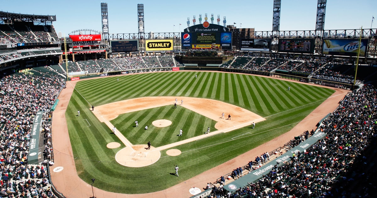 Guaranteed Rate Field Worst Stadium Name In Baseball Rolling Stone - Us cellular fields map