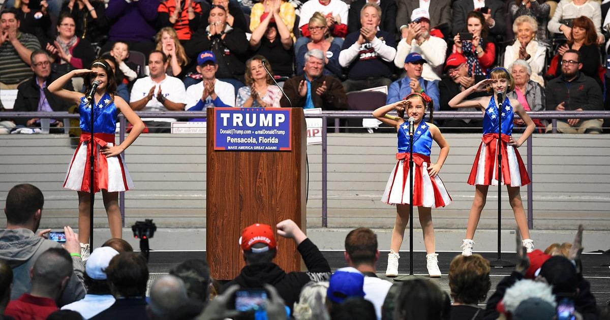 Usa Freedom Kids To Sue Trump Campaign Over Broken