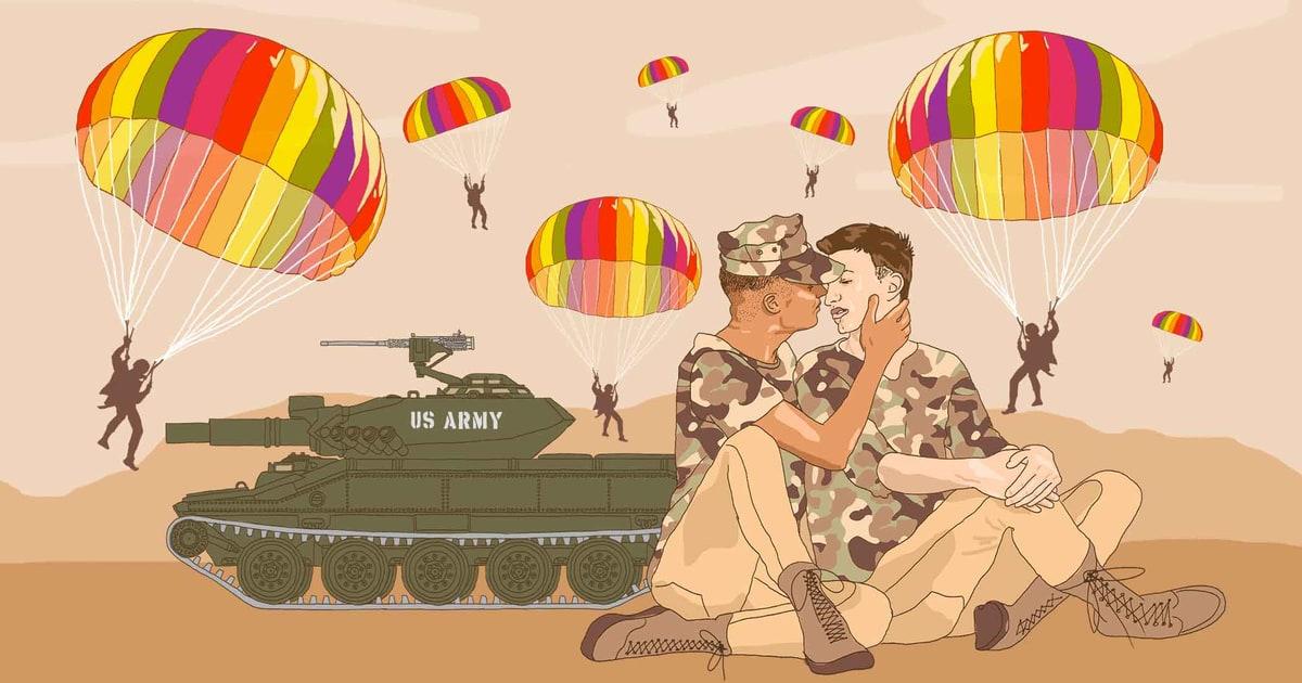 Gay veteran groups