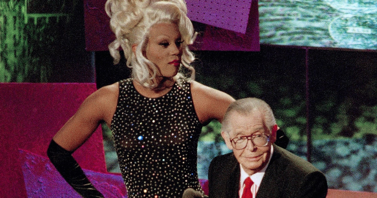rupaul and milton berle dress each other down 1993 32