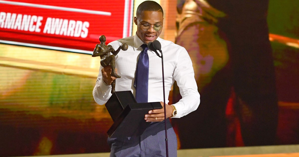 Russell Westbrook's NBA MVP Acceptance Speech - Rolling Stone