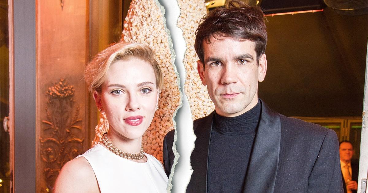 Scarlett Johansson, Husband Romain Dauriac Split After Two