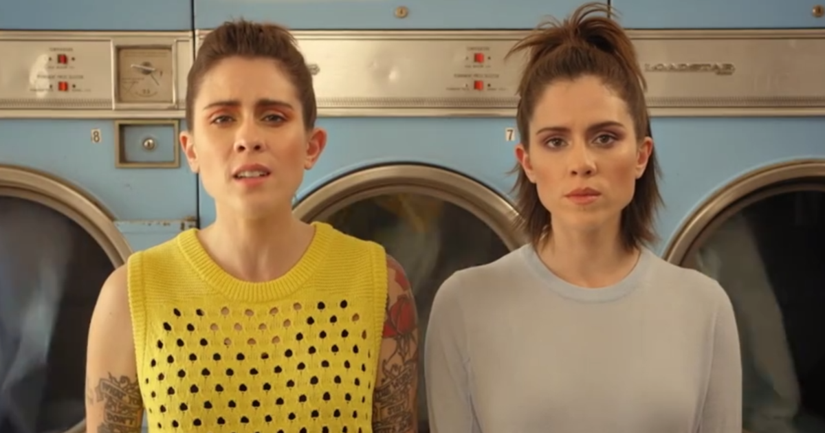 Tegan and Sara Boyfriend pop music videos 2016