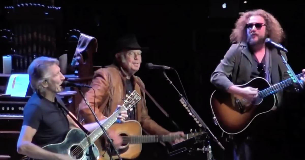 Watch Neil Young Face Off Against GMO Corn on 'Colbert' news