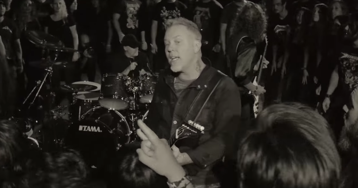 Go Behind the Scenes of Metallica's Raging 'Moth Into Flame' Video news