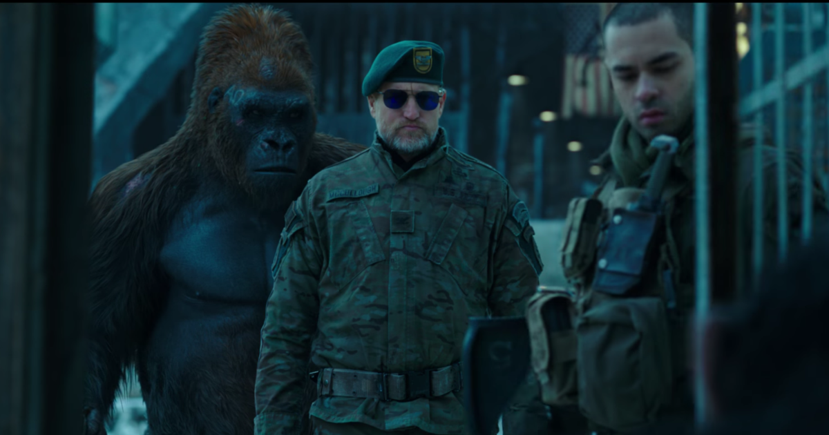 Watch Dire New 'War for the Planet of the Apes' Trailer ...