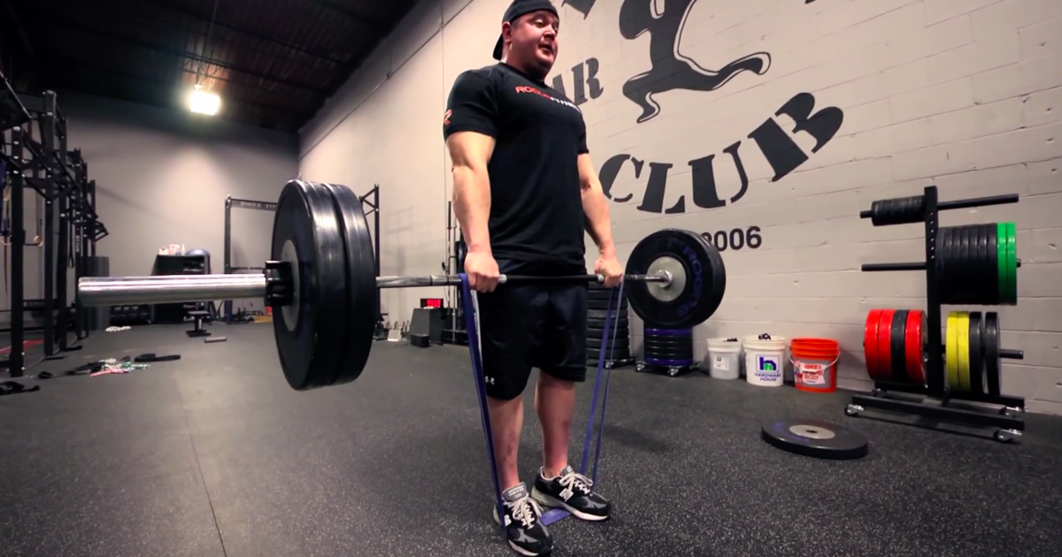 When And How To Add Resistance Bands To Your Barbell