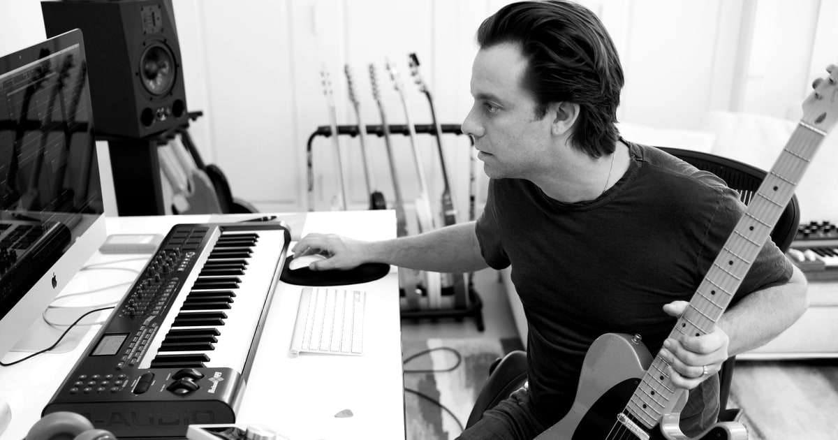 Sebastian Robertson Talks New Doc Score, Writing With His Father Robbie