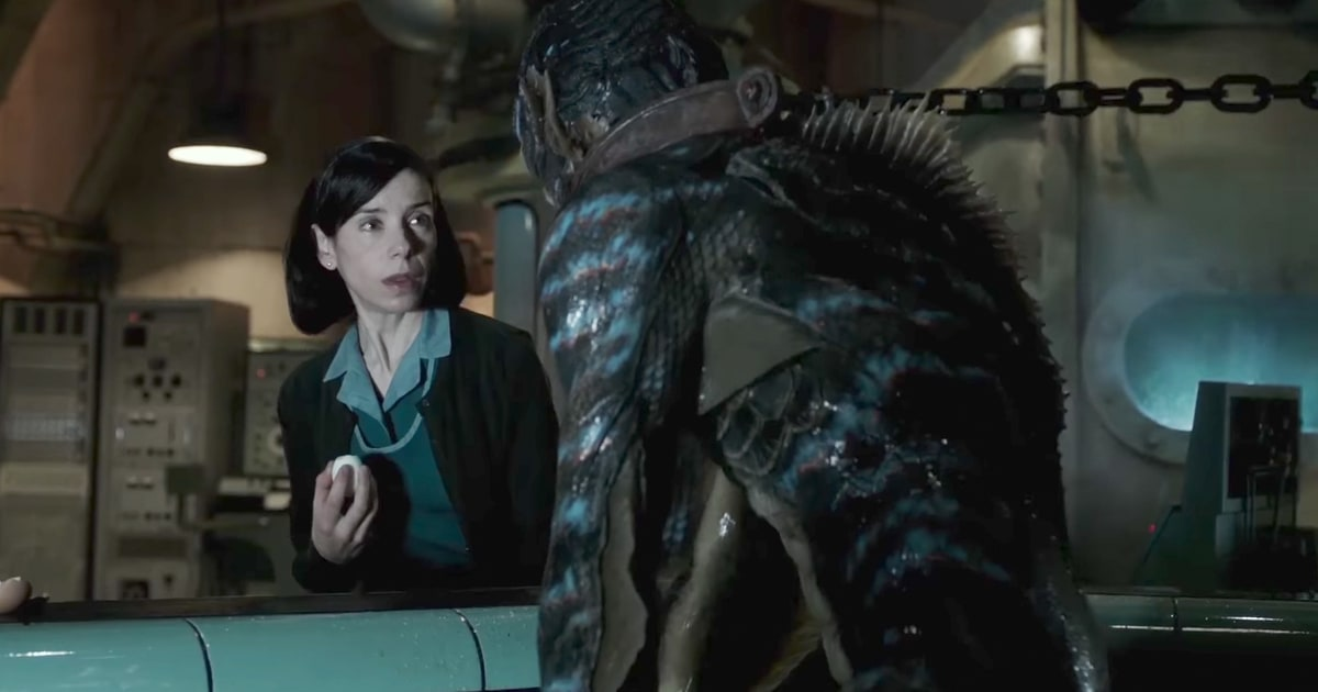 Image result for the shape of water toro