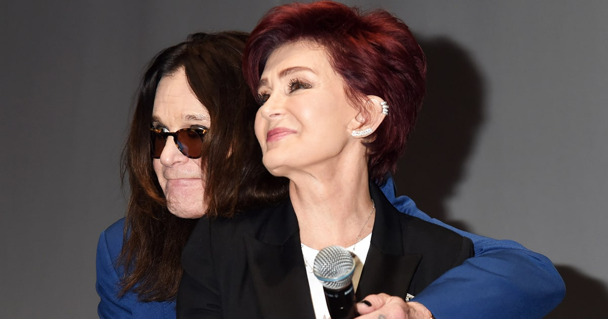 Sharon, Ozzy Osbourne Awkwardly Reunite to Announce Ozzfest Meets Knotfest - Us Weekly
