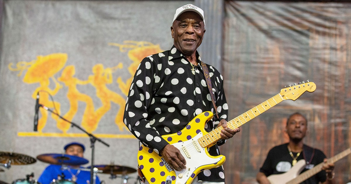 Image result for Buddy Guy Proves Blues 'Is Alive and Well' With New Song 'Nine Below Zero'