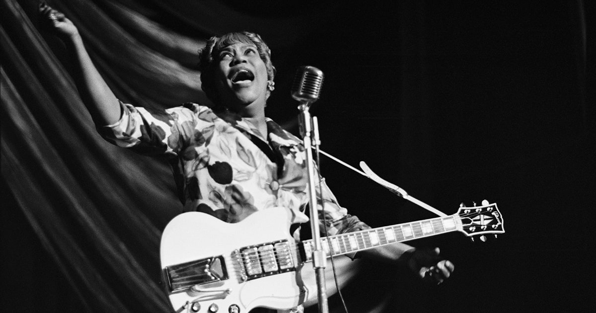 why sister rosetta tharpe belongs in the rock hall of fame rolling stone. Black Bedroom Furniture Sets. Home Design Ideas