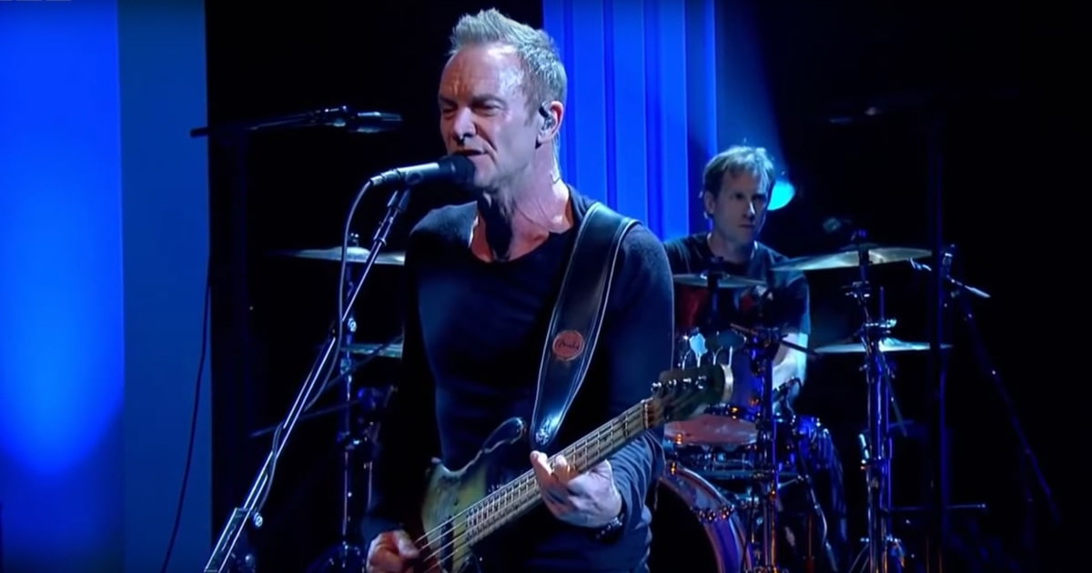Sting's Brain Scanned, Analyzed to Study Mental Music Organization news