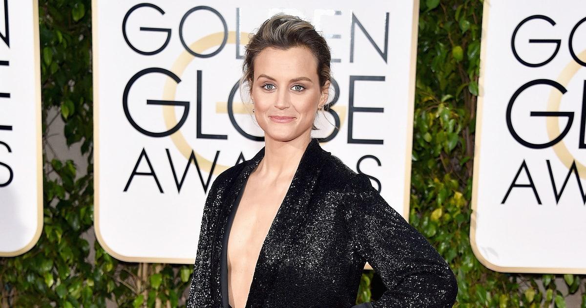Taylor Schilling | Golden Globes 2016 Red Carpet Fashion ...Taylor Schilling Golden Globes 2016