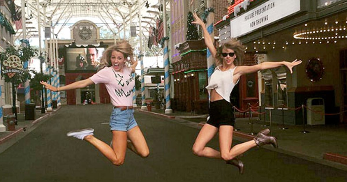 Blake Lively Joins Taylor Swift's Squad: Photos - Us Weekly