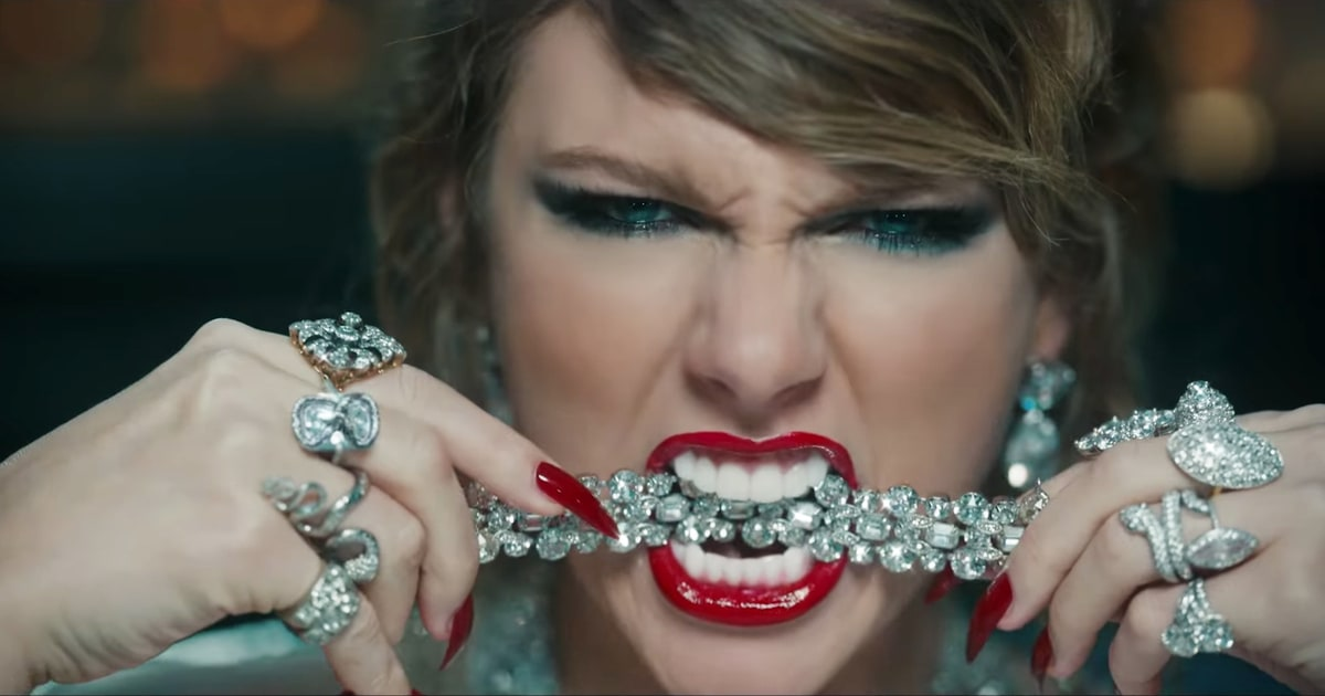 """The Sinister Meaning of Taylor Swift's """"Look What You Made"""
