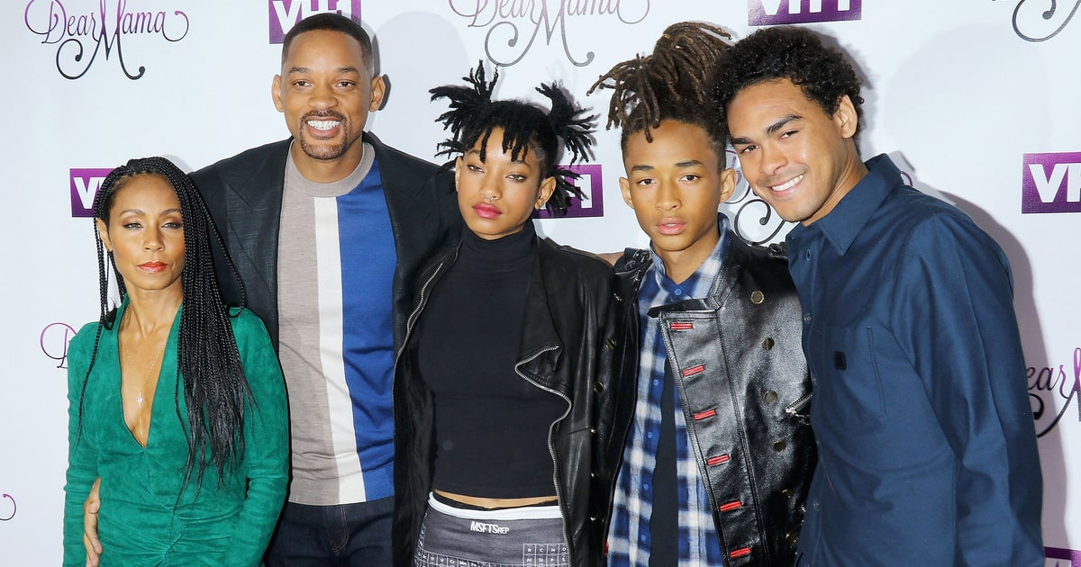 See Will Smith Jada Pinkett And Children On Red Carpet