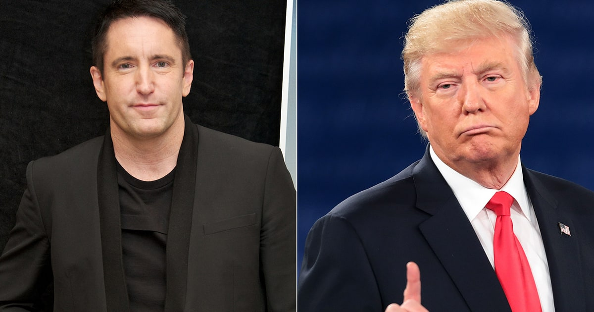 Trent Reznor Calls Donald Trump Candidacy Absurd