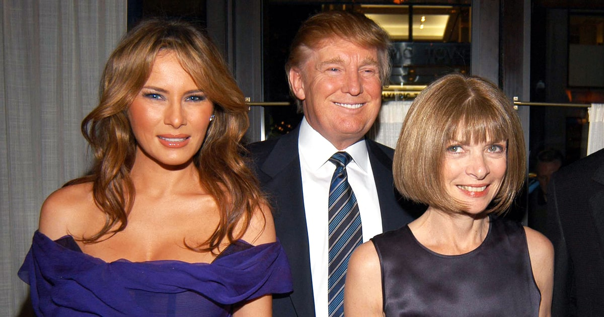Donald Trump Meets Anna Wintour, Graydon Carter, More