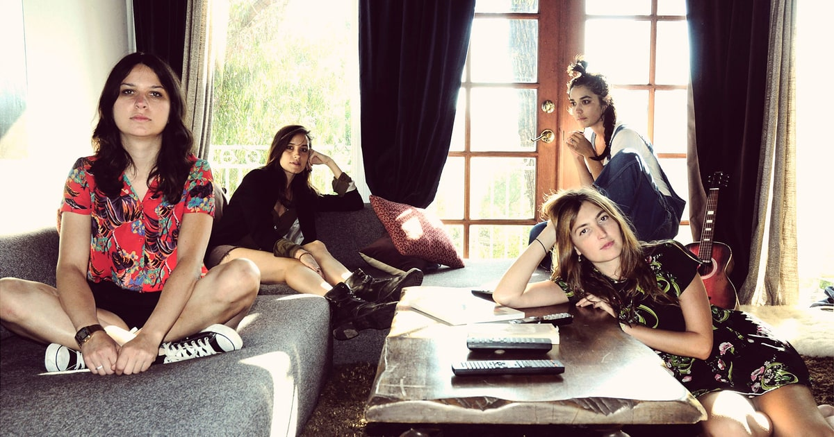 Hear Warpaint Preview LP With Seductive 'New Song' news